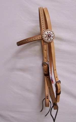 Brow Band- HS Rodeo-Drive Concho $139.95