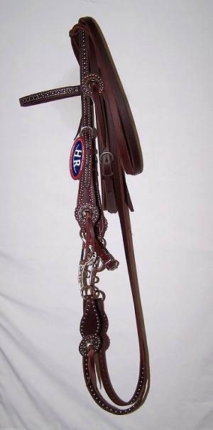 D&S Dotted Brow Band Bridle $Retail $174.95