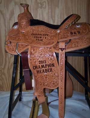 Trophy Roper Saddle