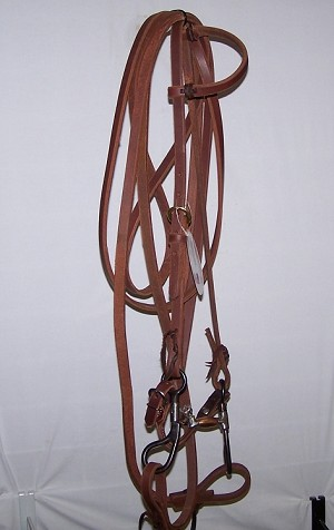 Harness one Ear Bridle Hinged Colt Bit Retail $124.95