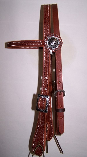 "5/8"" Browband Headstall Retail $109.95"