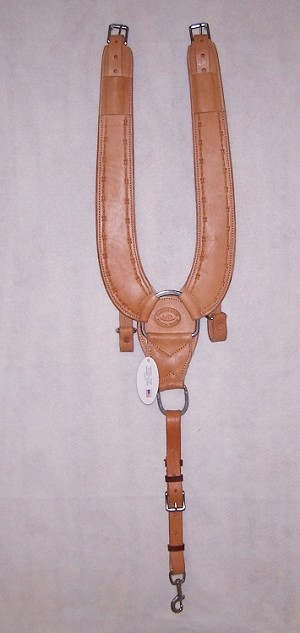 Pulling Collar Tooled Barb Wire Retail $159.95