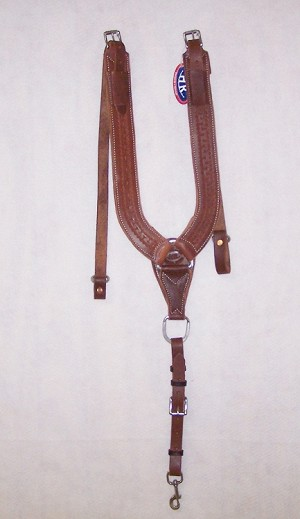 Trail Pulling Collar Tooled Running W Retail $159.95