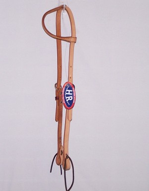 Stitched Single Ply Loop Ear Headstall Retail $24.95