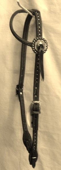 Sliding One Ear Headstall Retail $ 74.95