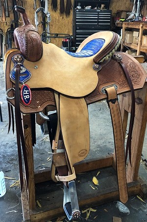 Angled Barrel Racer Suggested Retail Price $2595