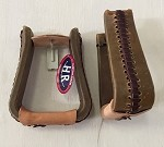 Roper Stirrup Rawhide Covered And Laced Retail