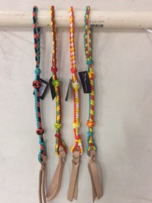 76-256 Turquoise/Black/Orange Nylon Quirt Suggested Retail $ 15.95