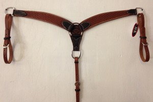 "2 1/2"" Breast Collar Tolled Basket Retail $99.95"